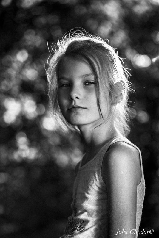 Kids portrait photography - Photo session. Photo: Julia Chodor