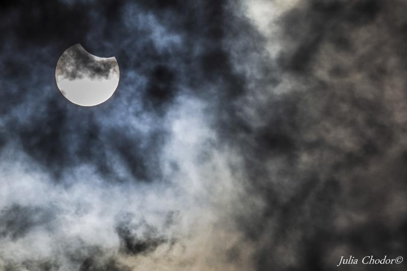 solar eclipse, zaćmienie słońca, Photo: Julia Chodor