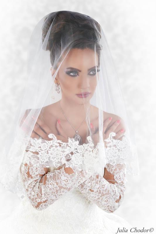portret ślubny, fotografia ślubna, reportaż ślubny - Julia Chodor